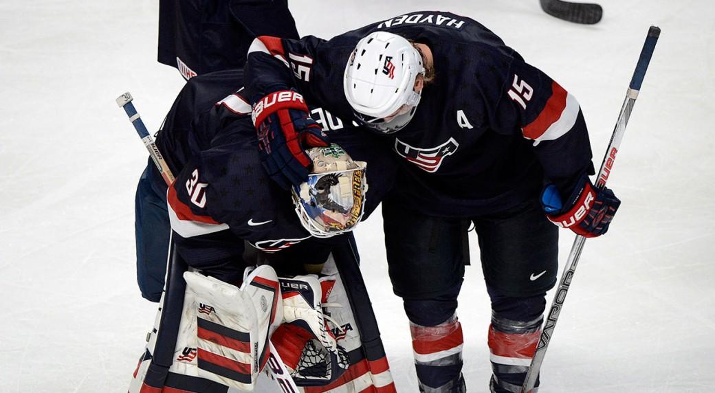 Thatcher-Demko;-World-Junior-Hockey-Championship