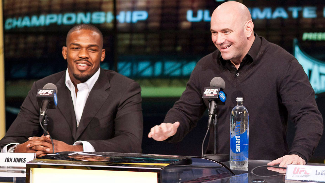 UFC president Dana White says Jon Jones will determine his own future
