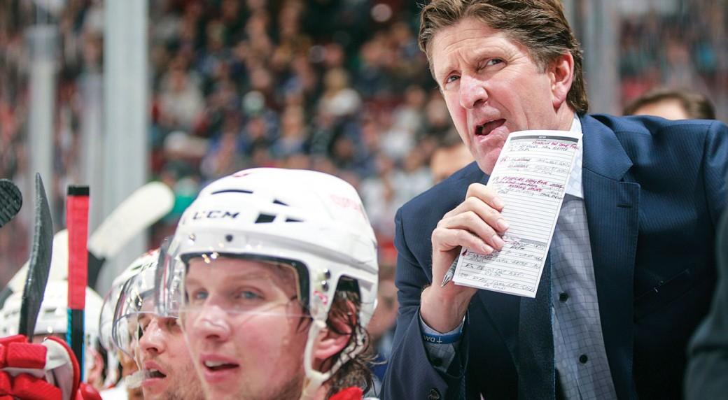 Mike-Babcock;-Detroit-Red-Wings