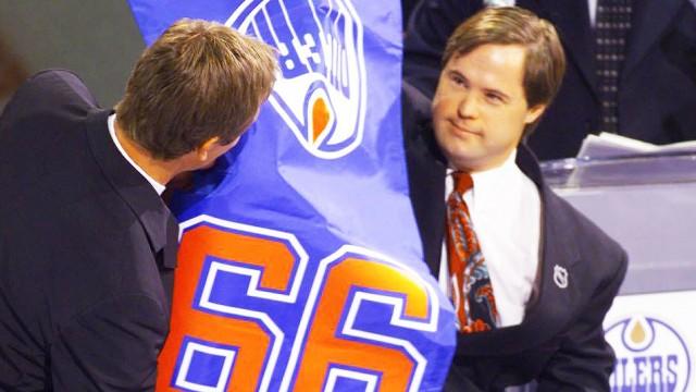 Joey-Moss;-Wayne-Gretzky;-Edmonton-Oilers