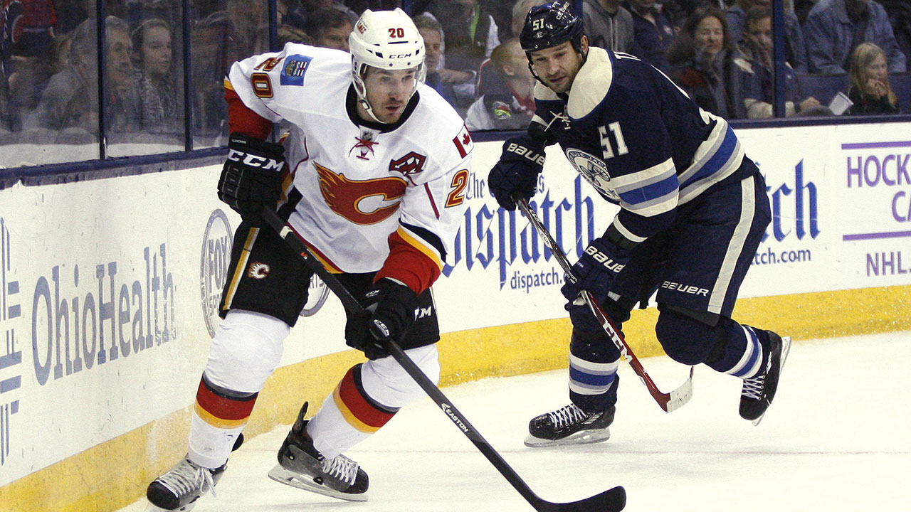 Curtis-Glencross;-Calgary-Flames;-NHL