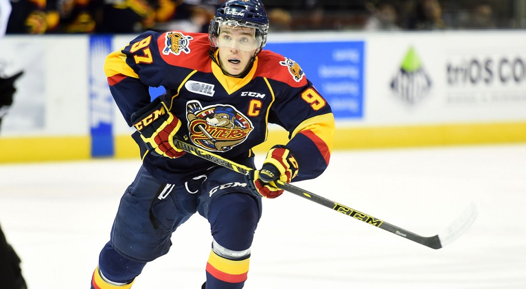 Connor-McDavid;-OHL-playoffs;-Erie-Otters;-Sault-Ste.-Marie-Greyhounds