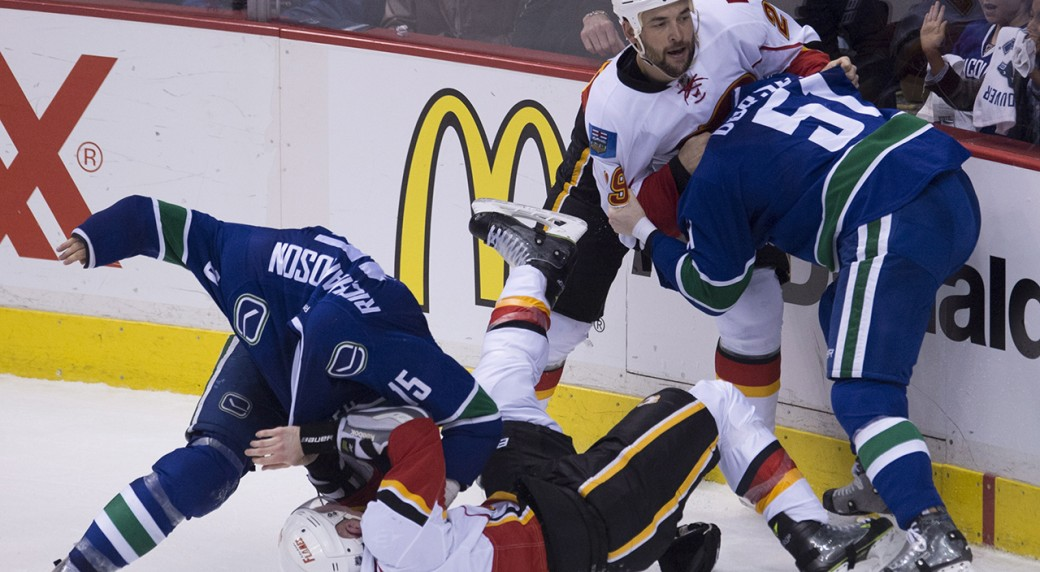 Gameday 1 Vancouver Canucks Vs Calgary Flames Sportsnet Ca