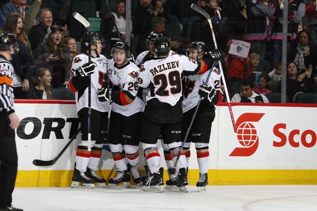 Round 2 Game 4 Calgary Hitmen At Medicine Hat Tigers