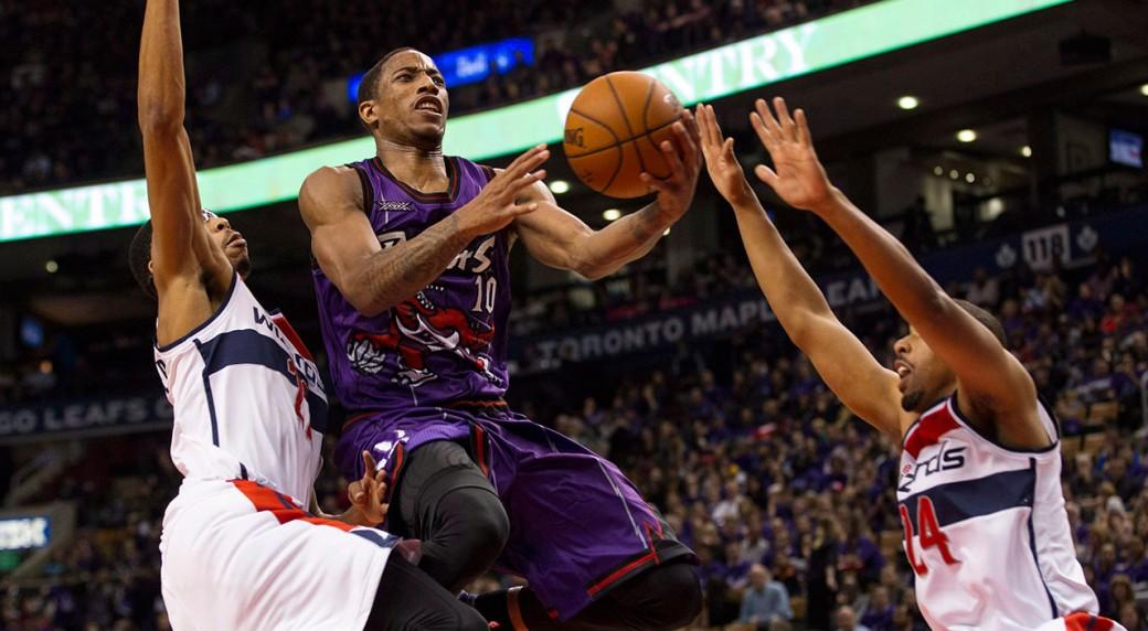 Toronto-Raptors;-Washington-Wizards