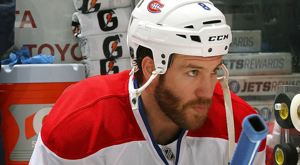 Brandon-Prust;-Montreal-Canadiens;-Vancouver-Canucks