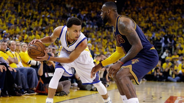 LeBron-James;-Stephen-Curry;-Golden-State-Warriors;-Cleveland-Cavaliers