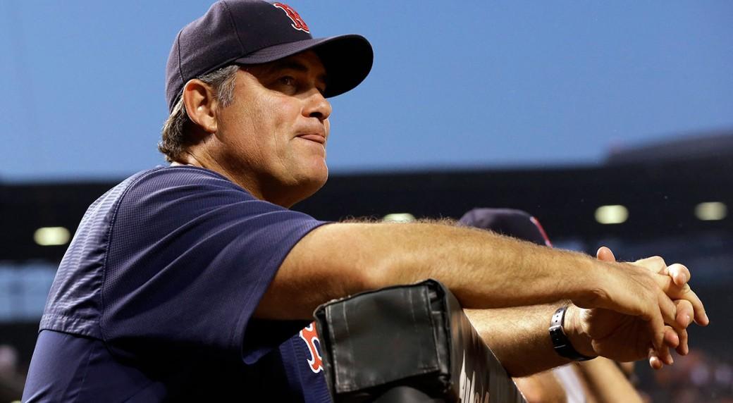 John-Farrell;-Boston-Red-Sox;-MLB