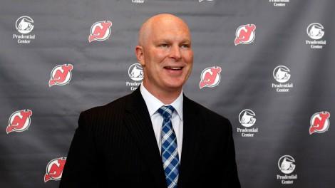 John-Hynes;-New-Jersey-Devils;-NHL