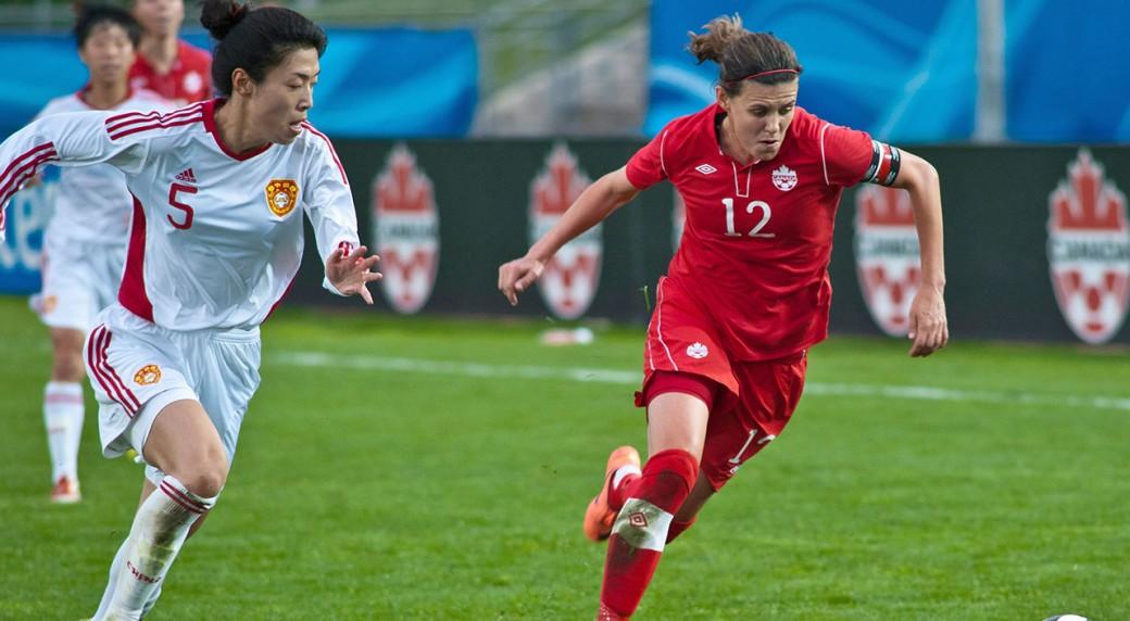 Christine-Sinclair;-Canada-Soccer;-Women's-World-Cup