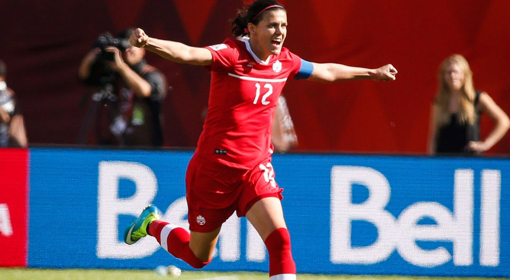 Christine-Sinclair;-Canada;-FIFA-Women's-World-Cup