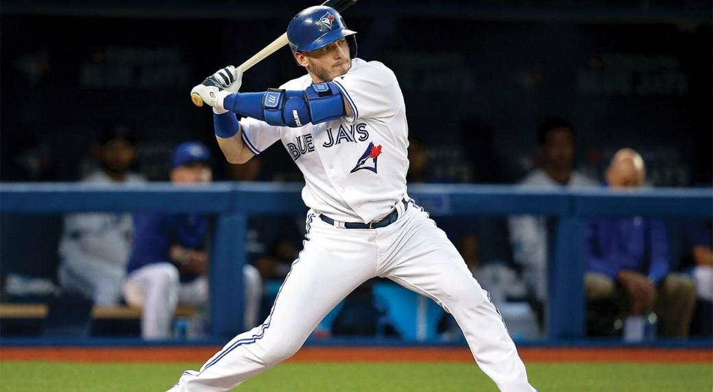 c2e2cf4d Josh Donaldson of the Toronto Blue Jays gears up to swing. (Tom  Szczerbowski/Getty)