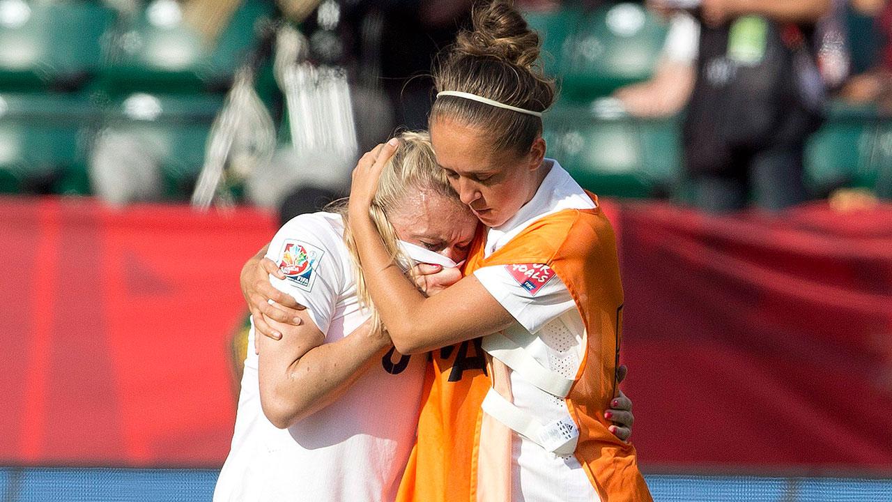 Josanne-Potter;-Laura-Bassett;-FIFA-Women's-World-Cup;-England;-Japan