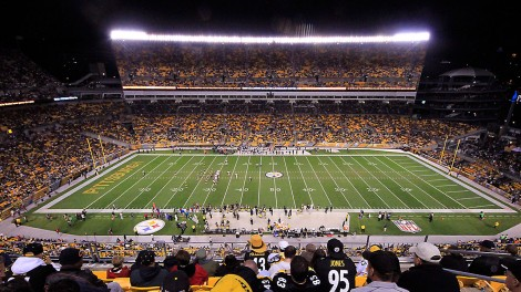 Heinz-Field;-Pittsburgh-Steelers;-NFL