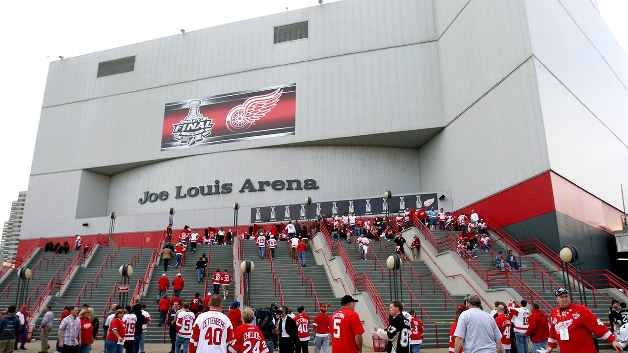 Detroit-Red-Wings;-Joe-Louis-Arena