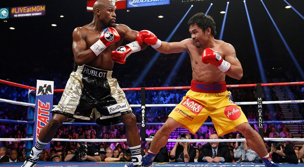 Manny Pacquiao Challenges Floyd Mayweather For A Rematch Sportsnet Ca