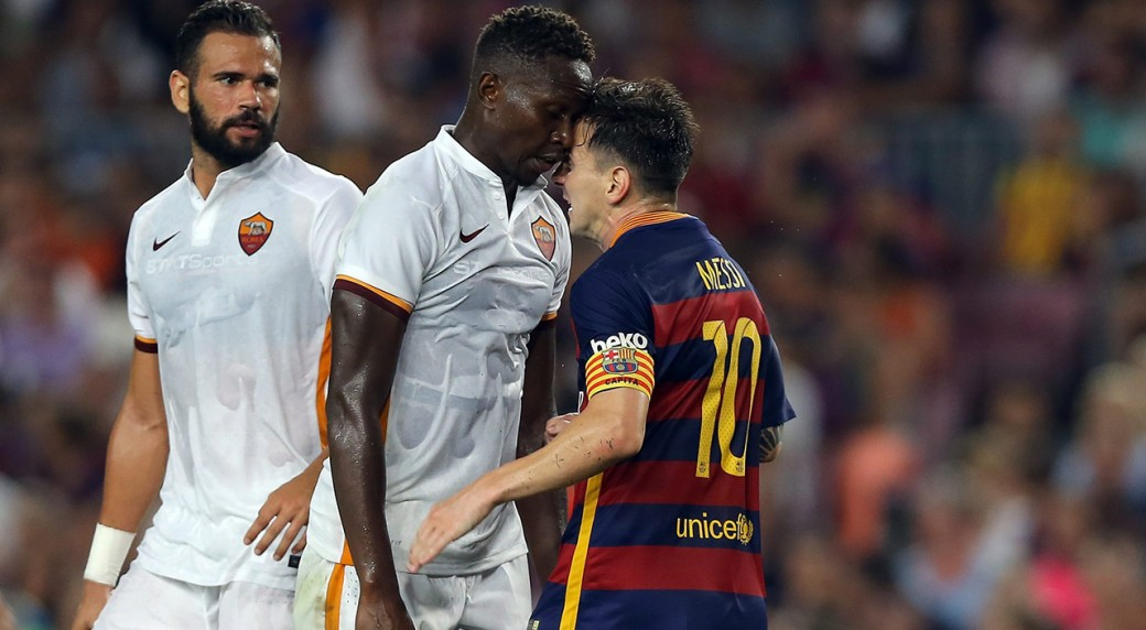 Watch Did Messi Deserve Red Card For Headbutt Sportsnet Ca