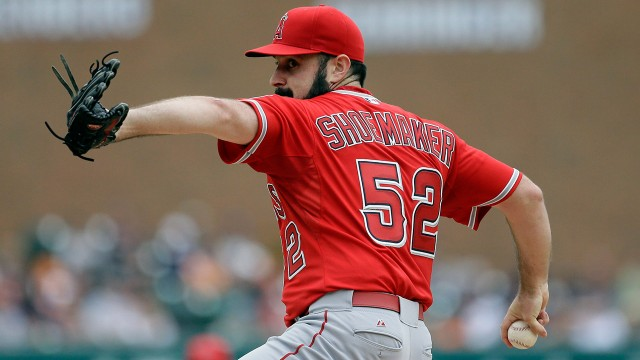 Matt-Shoemaker;-Los-Angeles-Angels;-MLB