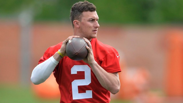 Johnny-Manziel;-Cleveland-Browns;-NFL
