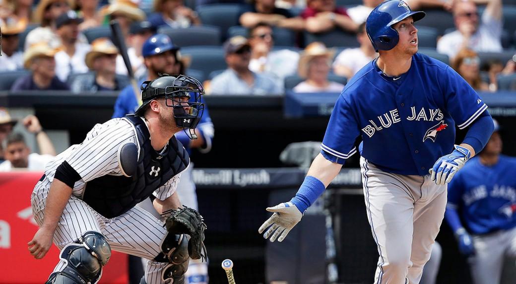 Blue-Jays;-Justin-Smoak;-Yankees