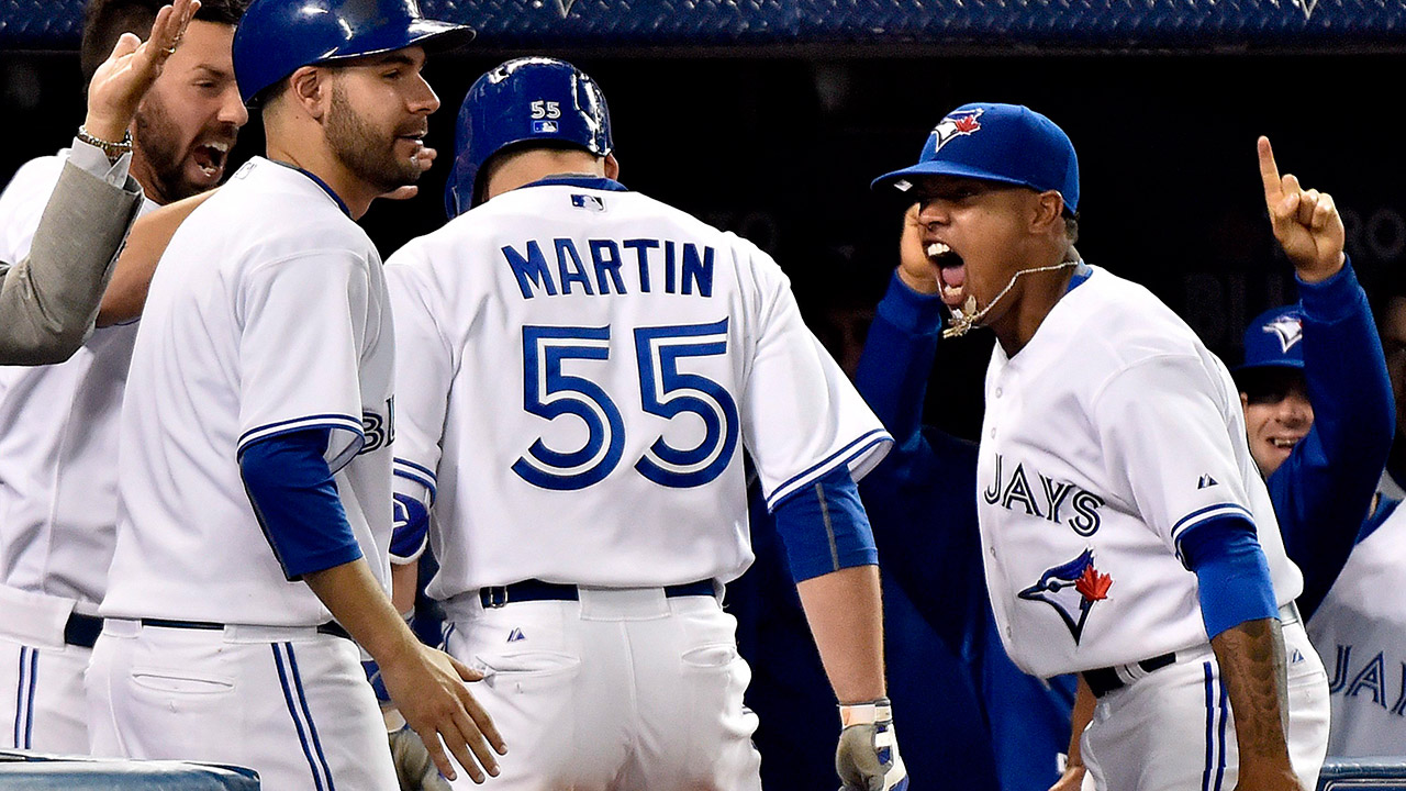 Martin, Blue Jays bring down the house in win over Yankees - Sportsnet.ca
