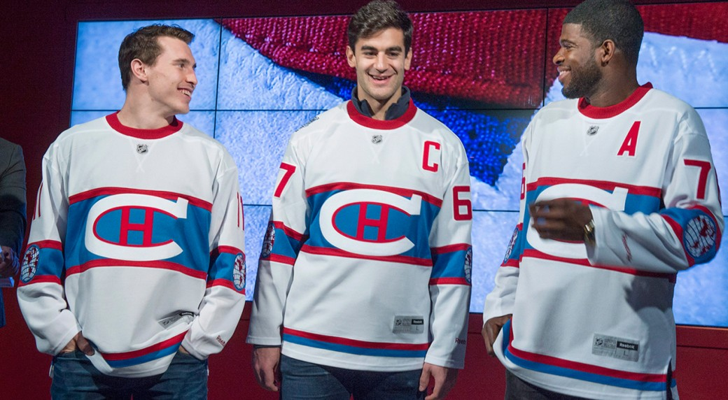 save off 09d72 d88b5 The history behind Montreal's Winter Classic jersey ...