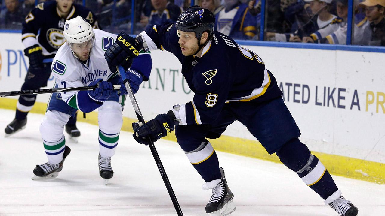 Steve-Ott;-St.-Louis-Blues;-NHL