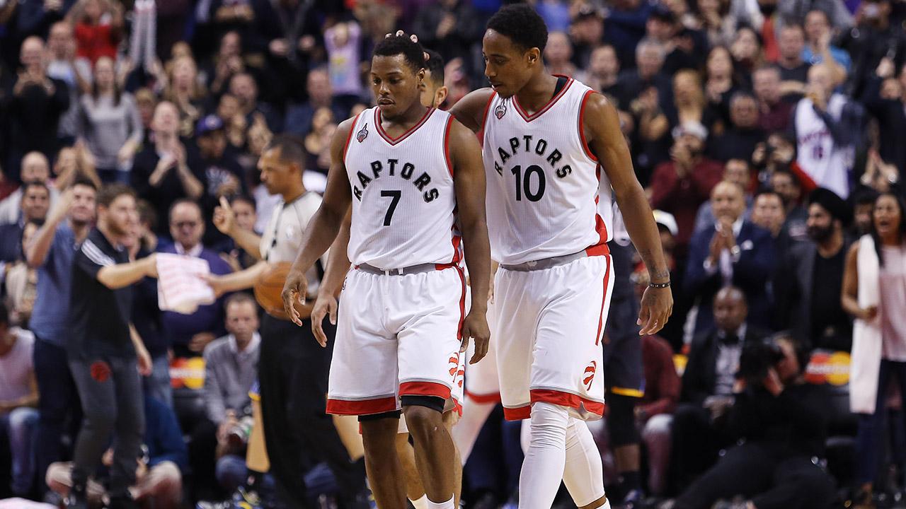 Toronto-Raptors;-DeMar-DeRozan;-Kyle-Lowry