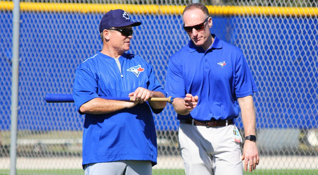 Blue-Jays;-John-Gibbons;-Mark-Shapiro;-Spring-Training