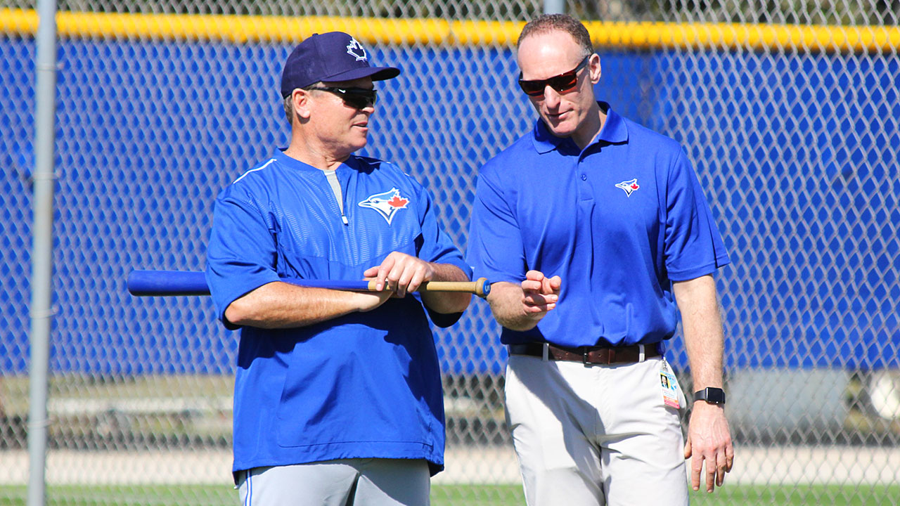 Blue-Jays;-John-Gibbons;-Mark-Shapiro;-Spring-Training