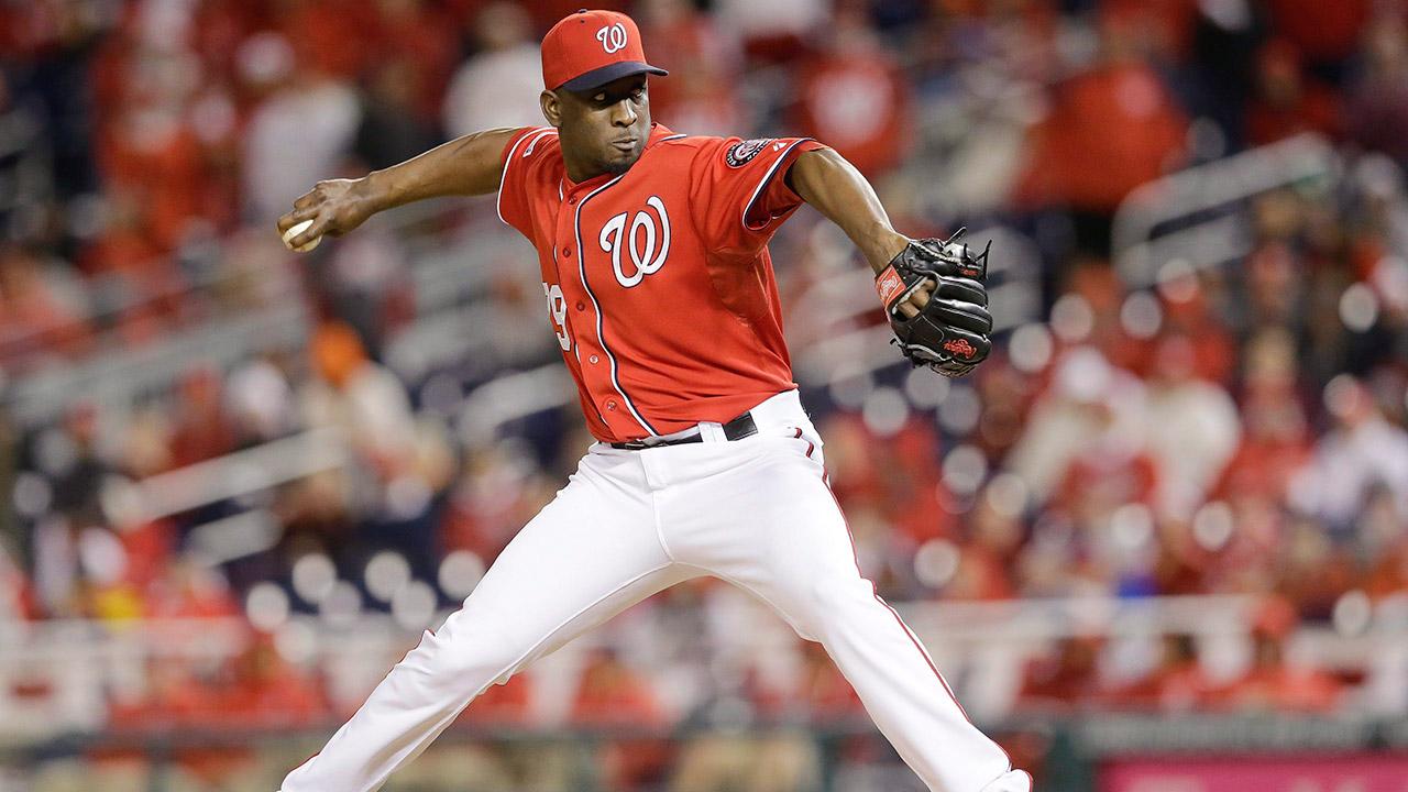 Rafael-Soriano;-Washington-Nationals;-Toronto-Blue-Jays;-MLB