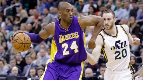 Kobe-Bryant;-Los-Angeles-Lakers;-Utah-Jazz;-NBA