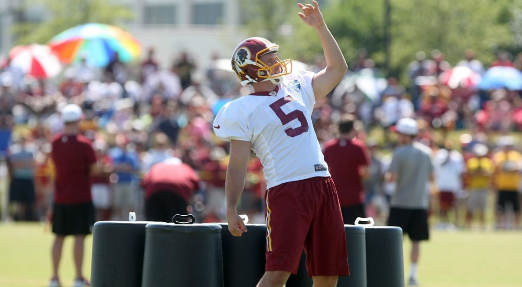 best service fce1a 1cf23 Redskins sign punter Tress Way to 5-year deal - Sportsnet.ca