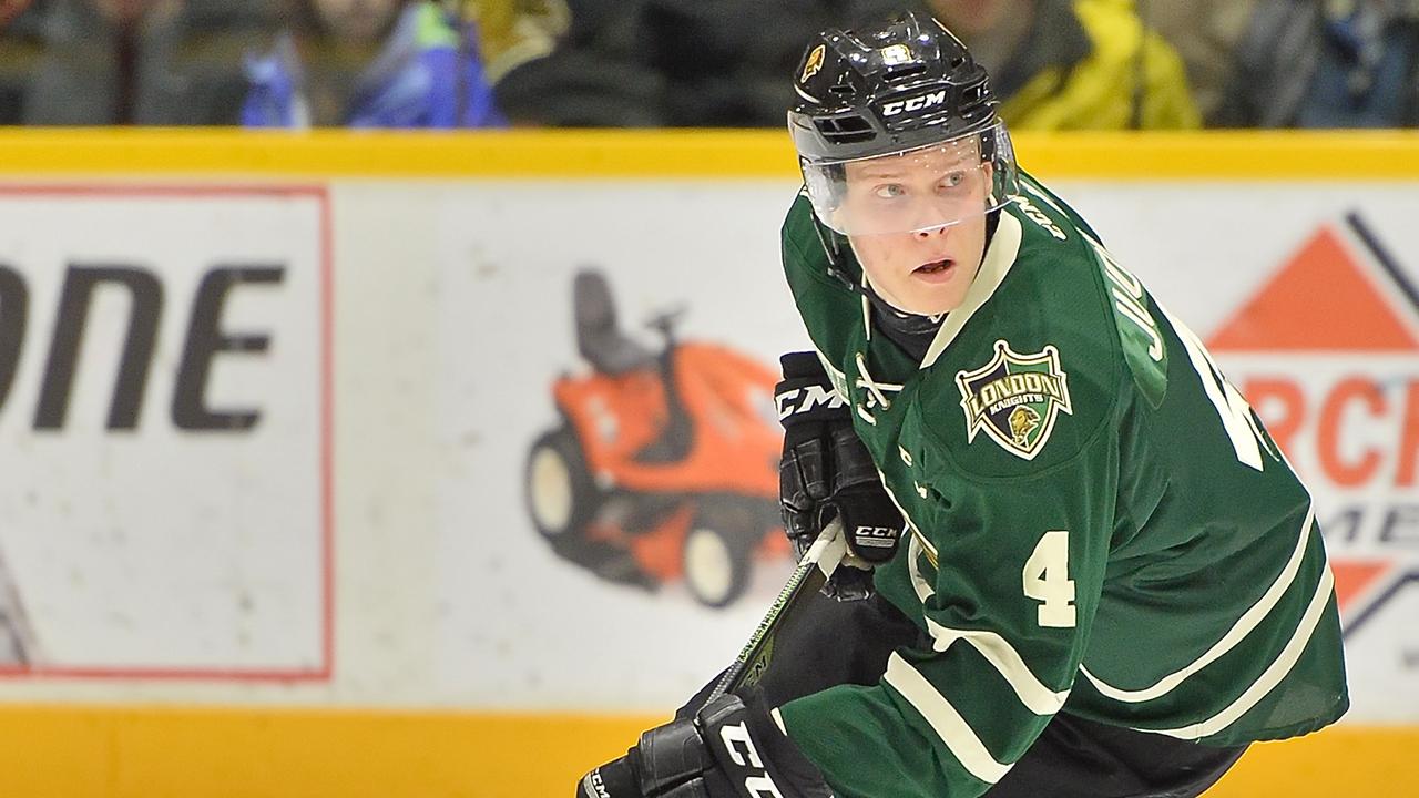 Olli-Juolevi;-London-Knights;-OHL;-CHL;-Finland;-2016-NHL-Draft;-OHL-Playoffs;-Sportsnet