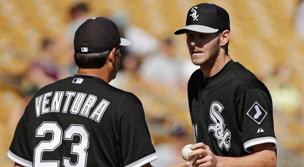 new concept d28b4 0372a Bases Covered: Which jersey will Chris Sale cut next ...