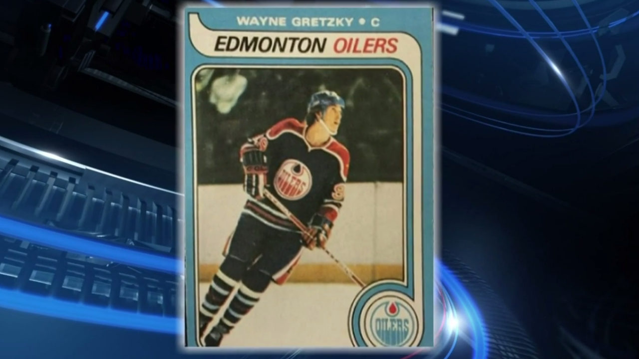 Gretzky Rookie Hockey Card Sells At Auction For Record Price