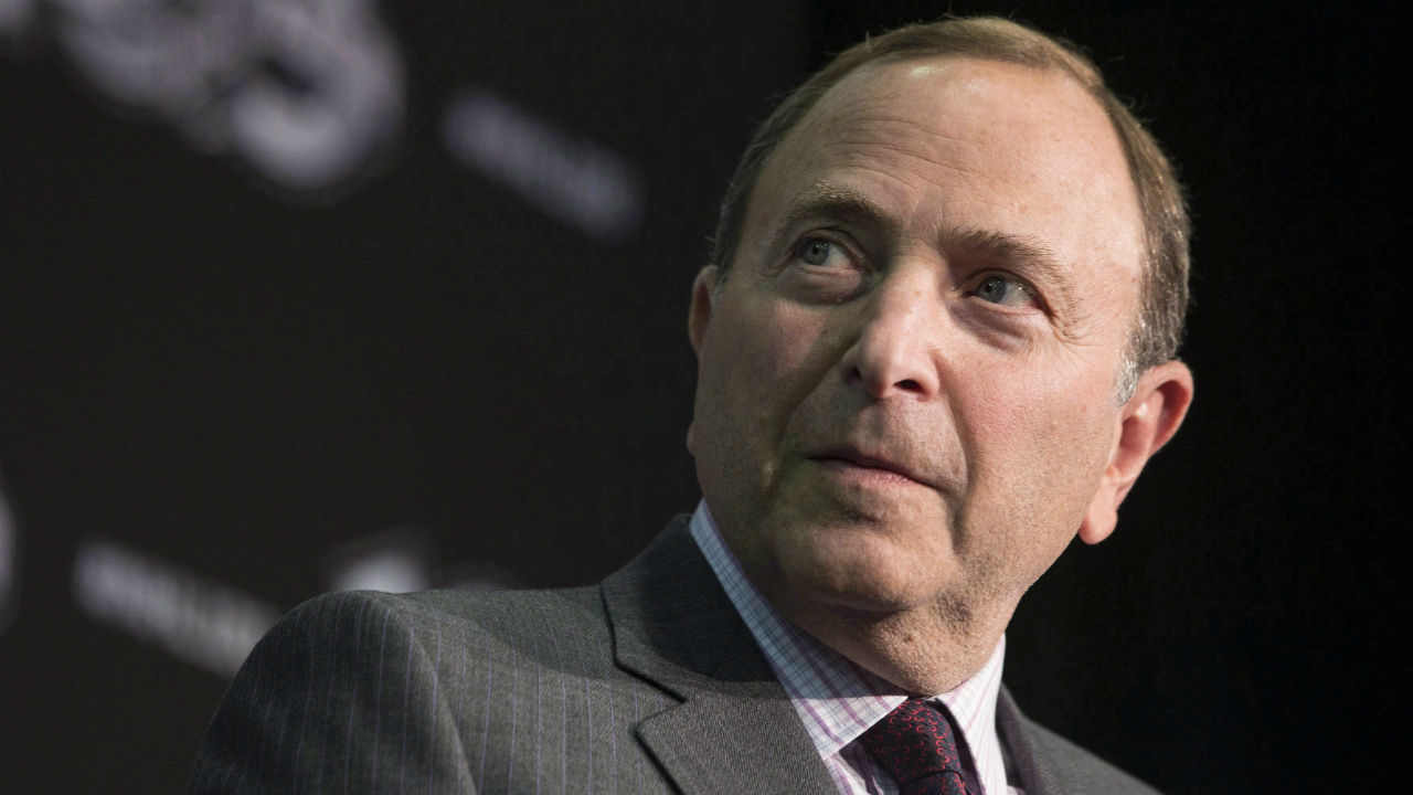 NHL-Commissioner-Gary-Bettman-attends-a-news-conference-as-the-NHL-announces-their-plans-for-the-league's-2017-centennial-celebrations,-in-Toronto-on-Tuesday-September-27,-2016.-THE-CANADIAN-PRESS/Chris-Young