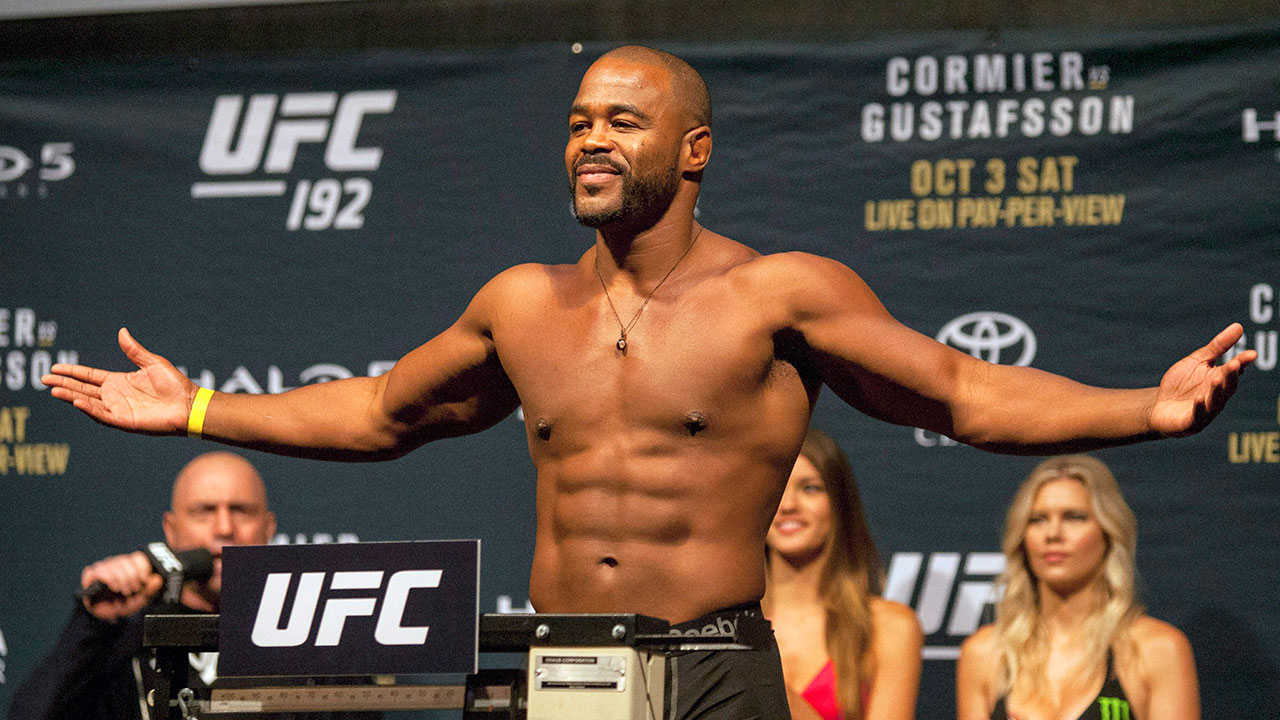 Rashad Evans on Anthony Smith's corner, fights without a crowd, potential Jones-Ngannou match