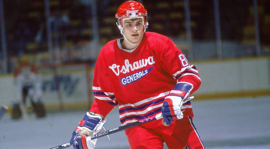 Eric-Lindros;-Oshawa-Generals;-OHL;-CHL;-Hockey-Hall-of-Fame