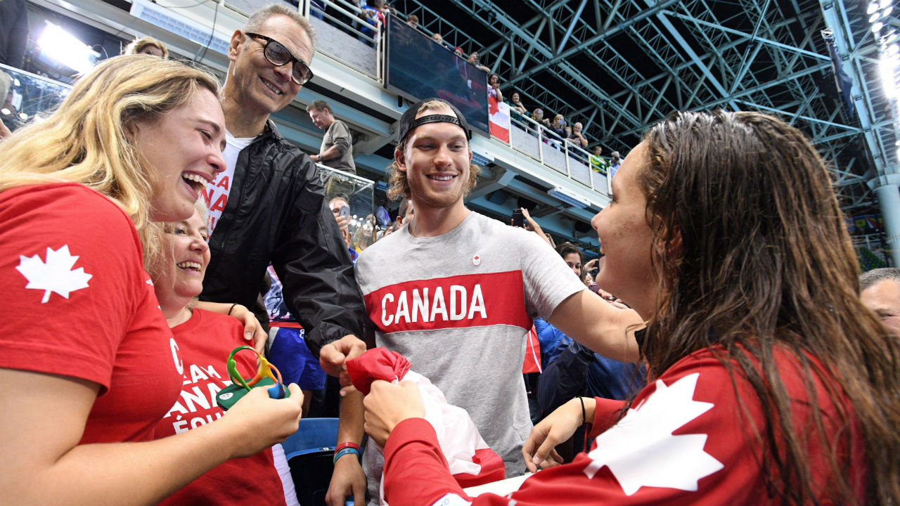 Jamie Oleksiak sobre la actuación olímpica de su hermana Penny Oleksiak y su traslado a Seattle