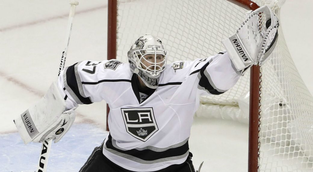 La Kings Activate Goalie Zatkoff After 8 Games Out Sportsnet Ca