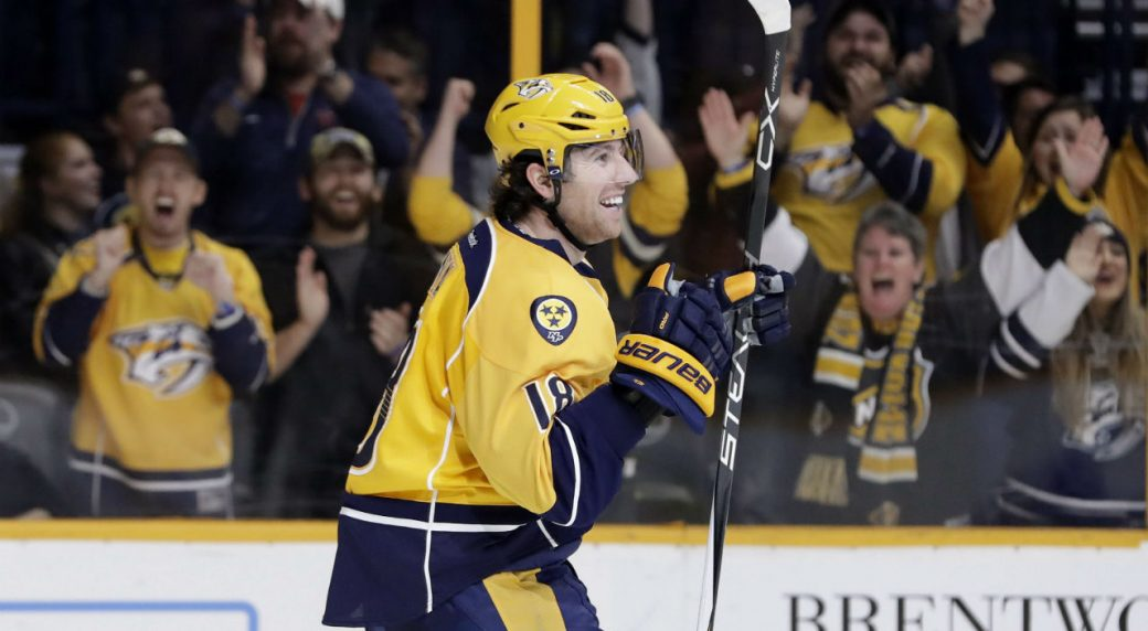 check out d709c 1f37e Predators' James Neal returns from injury vs. Avalanche ...