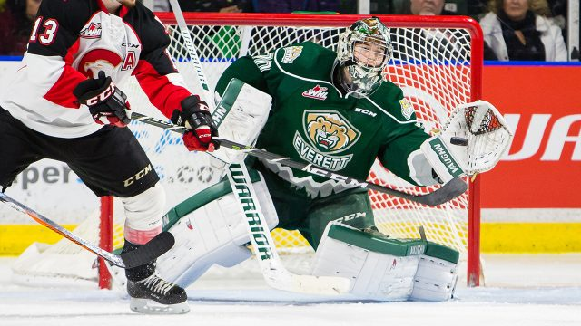 Carter-Hart,-Everett-Silvertips;-WHL;-CHL;-2017-IIHF-World-Junior-Championship;-Team-Canada