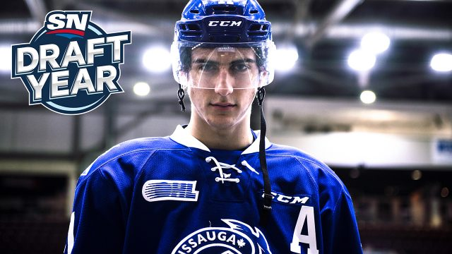 Nic-Hague;-Mississauga-Steelheads;-OHL;-CHL;-2017-NHL-Draft