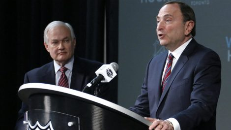 Donald-Fehr,-left,-and-Gary-Bettman.-(Gene-J.-Puskar/AP)