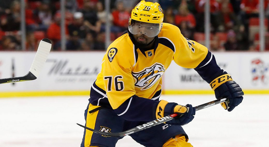 P K  Subban: 'One day I'd love to be the commissioner of the NHL