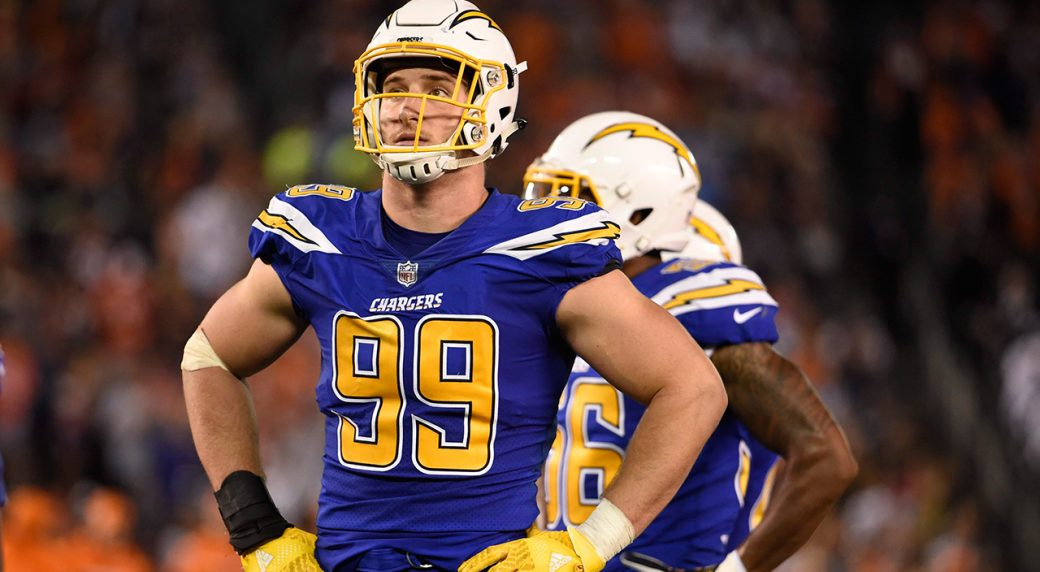 Joey Bosa signs massive, record five-year contract extension