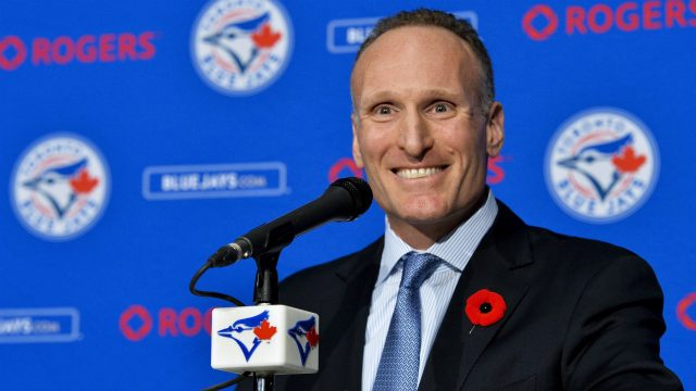 Toronto-Blue-Jays-president-and-chief-executive-officer-Mark-Shapiro-holds-a-news-conference-in-Toronto.-(Nathan-Denette/CP)