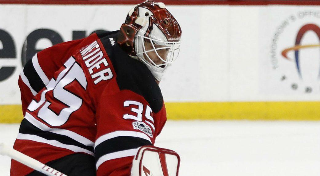 Devils Goalie Cory Schneider Returns From Injured List Sportsnet Ca