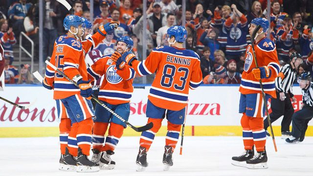 new product 409d5 b2112 Edmonton Oilers to use orange sweaters in playoffs, 2017-18 ...